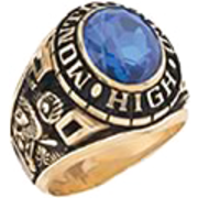 100 Guy's Classic Oval Class Ring