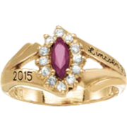 145 Girl's Marquis Fashion Class Ring