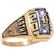 160 Girl's Crest Class Ring