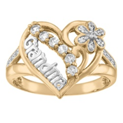 5208/5218  Grandmas Pride Personalized Fashion Ring
