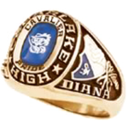 195 Girl's USA Class Ring