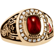 196 Girls' USA Premiere Class Ring