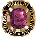 274 / 284 Women's Military / Service Ring: Emergency Medical Technician