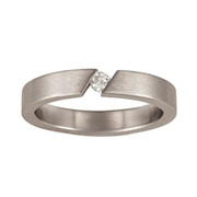 5166 Keepsake Personalized Hera Stainless Steel Ring