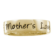 5176 Keepsake Personalized Mothers Love Eternity Band