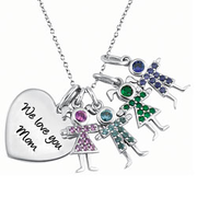 5225 / 5235 Personalized Keepsake Birthstone Kids 4 Kids