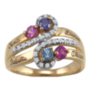 5226 / 5236 Personalized Keepsake S Curve Ring