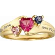 5227 / 5237 Personalized Keepsake Jewel Ring