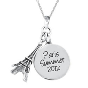 5228 Personalized Keepsake Travel Charm Pendant