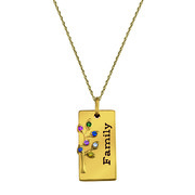 5246 / 5256 Personalized Keepsake Legacy Pendant
