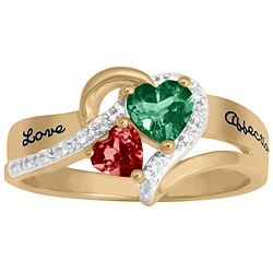 5269 / 5279 Personalized Keepsake Everafter Ring