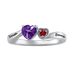 5309 / 5319 Personalized Keepsake Crush Ring