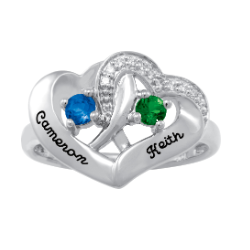 5322 / 5332 Personalized Keepsake Longing Ring