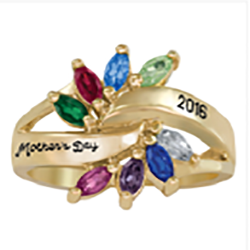 5323 / 5333 Personalized Keepsake Adulation Ring