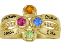 5328 / 5338 Personalized Keepsake Vivid Ring
