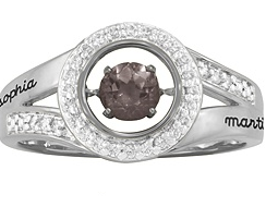 5360 / 5370 Personalized Keepsake Captivating Ring