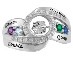 5367 / 5377 Personalized Keepsake Endeared Ring