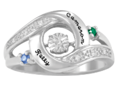 5368 / 5378 Personalized Keepsake Prized Ring