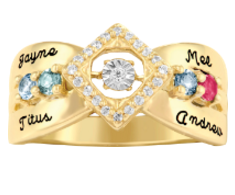 5369 / 5379 Personalized Keepsake Beguilded Ring