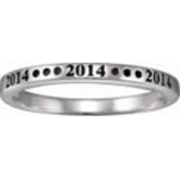 235 Yeardate Stacking Ring
