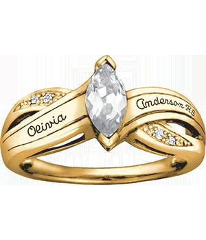 large view - Wedding Rings At Walmart